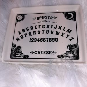 Ouija small cheese tray/ catch all